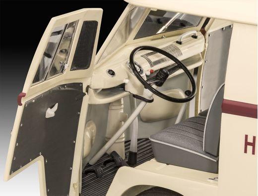 Maquette voiture : Volkswagen T1 Dr. Oetker - 1:24 - Revell 07677, 7677