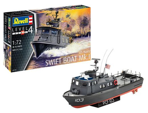 Maquette bateau : Us Navy Swift Boat Mk.I - 1:72 - Revell 05176 5176