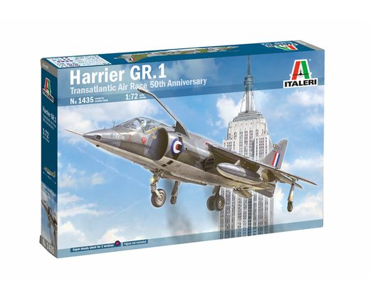 Maquette avion : Harrier GR.1 Transat. Air Race - 1/72 - Italeri 1435 01435