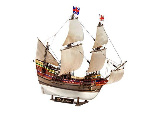 Maquette voilier : Mayflower - 400e Anniversaire - 1:83 - Revell 05684, 5684 - france-maquette.fr