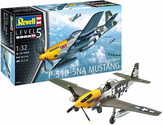 Maquette avion militaire :P-51D Mustang - 1:32 - Revell 03944