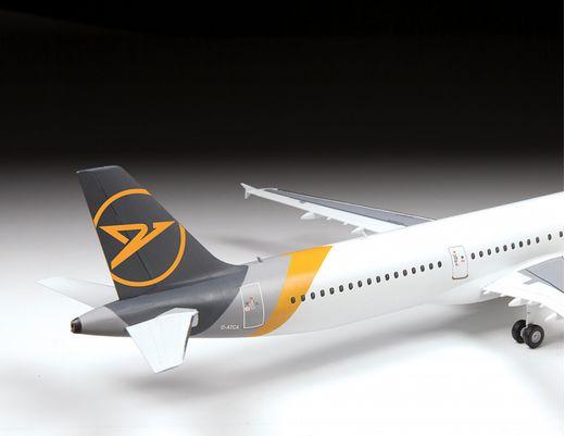 Maquette d'avion civil : Airbus A321 CEO - 1/144 - Zvezda 7040 07040