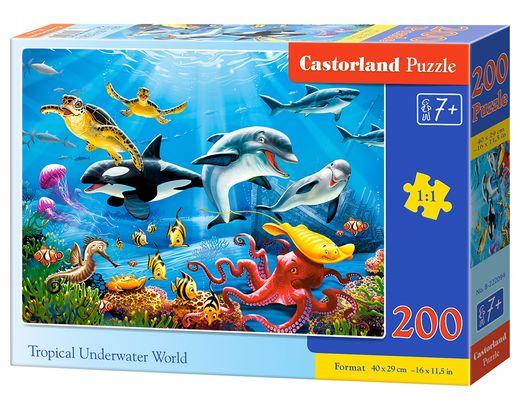 Puzzle Monde sous marin - 200 pièces - Castorland 222094