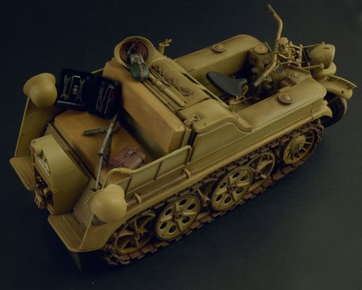 Maquette militaire : NSU HK 101Kettenkrad - 1:9 - Italeri 07404