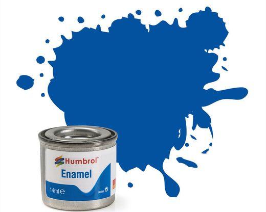 Peinture maquette enamel - Humbrol 14 - Bleu France Brillant - Humbrol AA0151