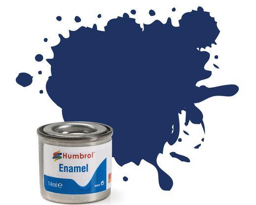 Peinture maquette enamel - Humbrol 15 - Bleu Nuit Brillant - Humbrol AA0165