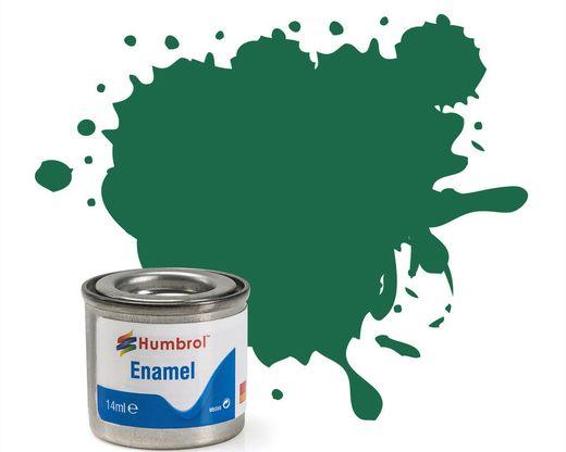 Peinture maquette enamel - Humbrol 30 - Vert Foncé Mat - Humbrol AA0326