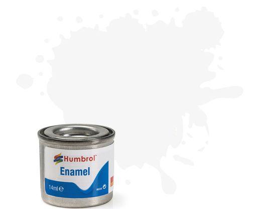 Peinture maquette enamel - Humbrol 34 - Blanc Mat - Humbrol AA0374