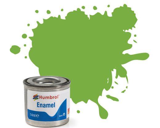 Peinture maquette enamel - Humbrol 38 - Citron Vert Brillant - Humbrol AA0415