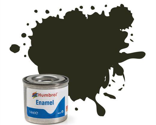 Peinture maquette enamel - Humbrol 53 - Gunmetal Métal - Humbrol AA0583