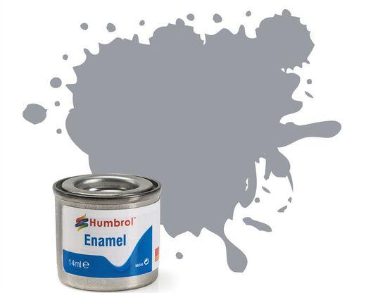 Peinture maquette enamel - Humbrol 64 - Gris Clair Mat - Humbrol AA0713
