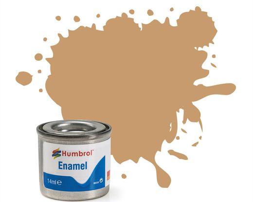 Peinture maquette enamel - Humbrol 94 - Jaune Brun Mat - Humbrol AA1047