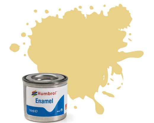 Peinture maquette enamel - Humbrol 103 - Crème Mat - Humbrol AA1136