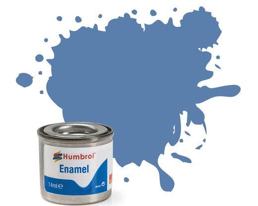 Peinture maquette enamel - Humbrol 109 - Bleu 1ère Guerre Mondiale Mat - Humbrol AA1208