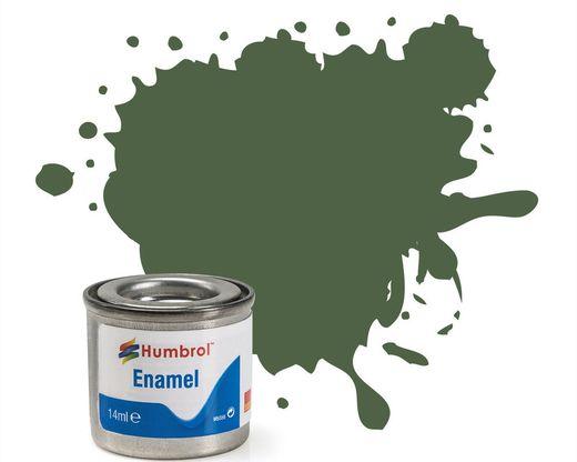 Peinture maquette enamel - Humbrol 117 - Vert Clair US Mat - Humbrol AA1290