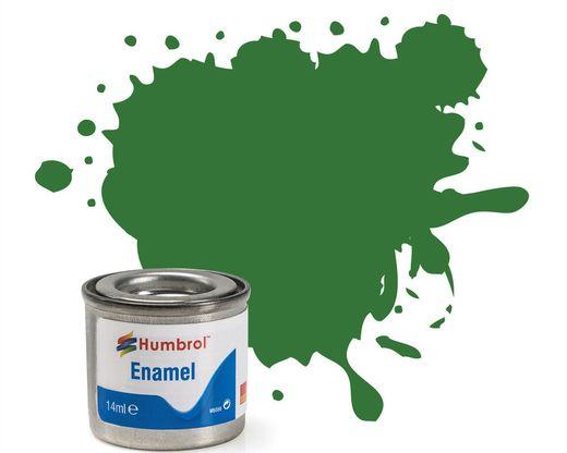 Peinture maquette enamel - Humbrol 131 - Vert Moyen Satiné - Humbrol AA1448