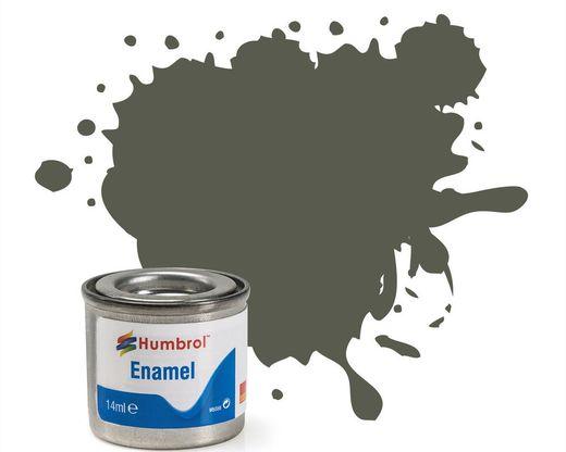 Peinture maquette enamel - Humbrol 241 - RLM70 Noir Vert Mat - Humbrol AA2241