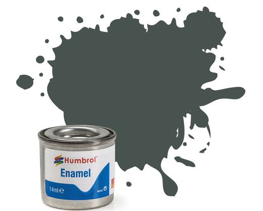 Peinture maquette enamel - Humbrol 244 - RLM73 Vert Mat - Humbrol AA2244