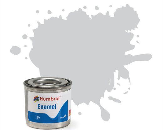 Peinture maquette enamel - Humbrol 11 50 ml- Argent Métal - Humbrol AQ0126