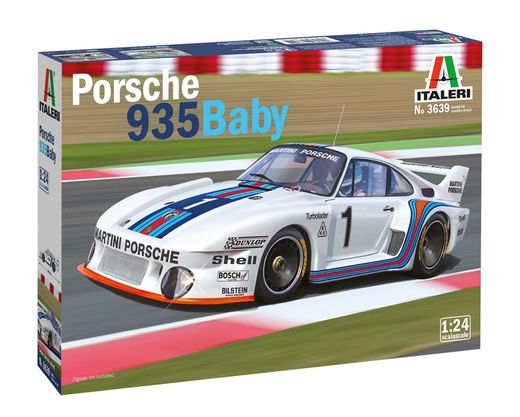 Maquette voiture : Porsche 935 «Baby» - 1/24 - Italeri 3639 03639 - france-maquette.fr