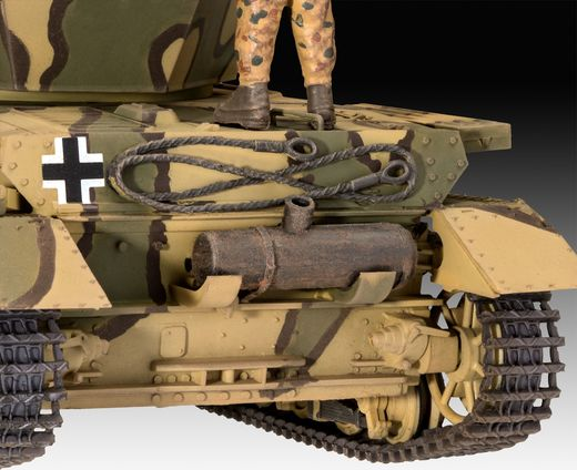 Maquette militaire : Flakpanzer IV Wirbelwind 1:35 - Revell 03296, 3296 - france-maquette.fr