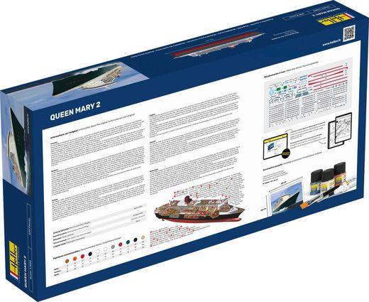Maquette bateau : Queen Mary 2 - 1:600 - Heller 80626