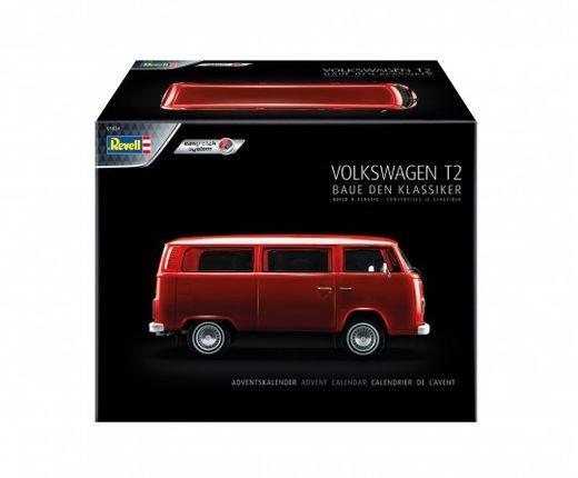 Calendrier De L'Avent Vw T2 Bus - 1:24 - Revell 01034, 1034
