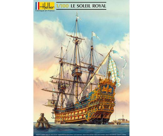 Maquette voilier : Starter Kit Soleil Royal - 1:100 - Heller 58899