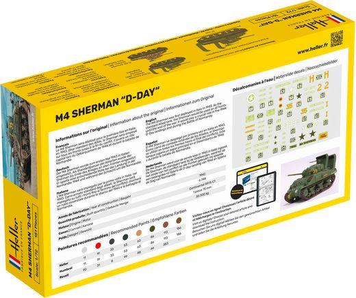 Maquette militaire : Sherman - 1:72 - Heller 79892