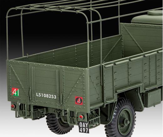 Maquette voiture militaire : Modèle W.O.T. 6 - 1/35 - Revell 3282 03282