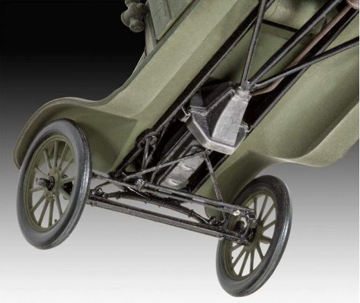 Maquette voiture militaire : Model T 1917 Ambulance - 1/35 - Revell 3285 03285