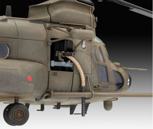 Maquette militaire : Model Set MH-47 Chinook 1:72 - Revell 63876 - france-maquette.fr