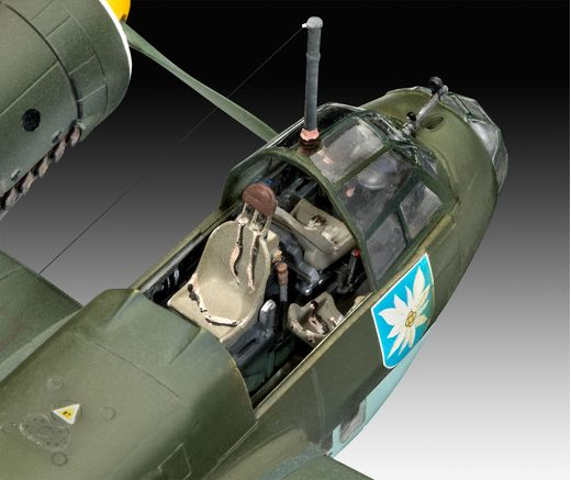 Maquette avion : Junkers Ju88 A-1 Battle of Brita 1:72 - Revell 04972, 4972 - france-maquette.fr