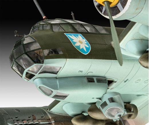 Maquette avion : Junkers Ju88 A-1 Battle of Brita 1:72 - Revell 04972, 4972 - france-maquette.fr