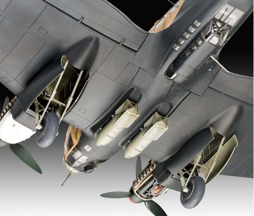 Maquette militaire : Heinkel He111 H-6 - 1:48 - Revell 03863, 3863