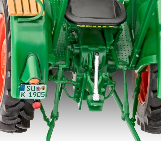 Maquette tracteur : Model set Deutz D30 - 1/24 - Revell 67821