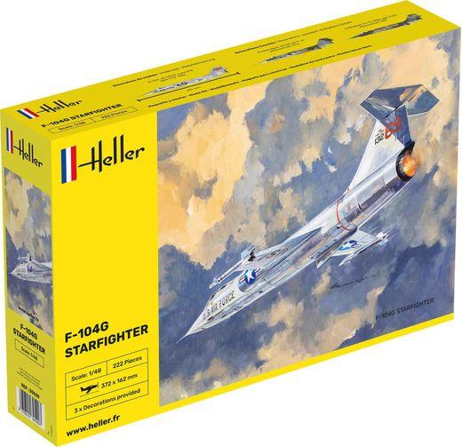 Maquette avion : F-104G Starfighter - 1:48 - Heller 30520