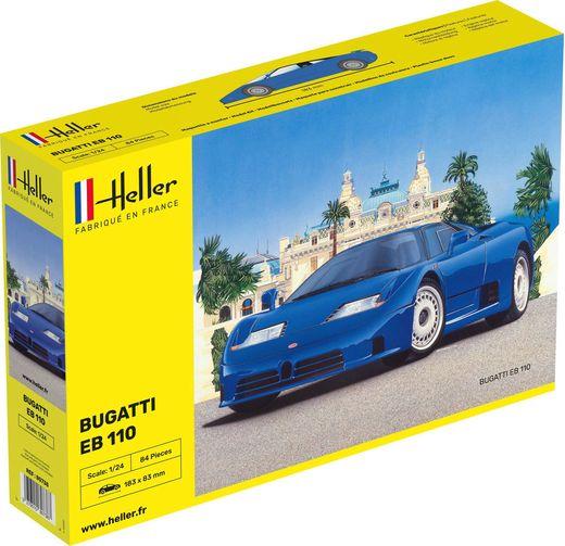 Maquette voiture : Bugatti EB 110 - 1:24 - Heller 80738