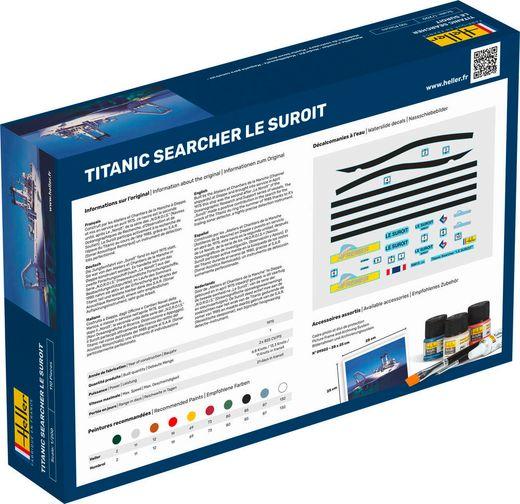 """Maquette bateau : Starter Kit Titanic Searcher """"Le Suroit"""" - 1:200 - Heller 56615"""