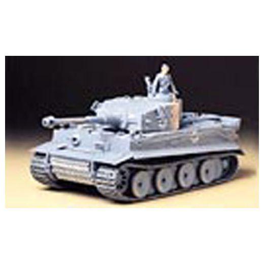 Maquette militaire : Char d'assaut allemand Tiger I - 1/35 - Tamiya 35216