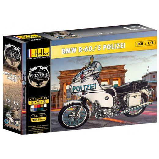 Maquette de moto : BMW Polizei - 1/8 - Heller 52993