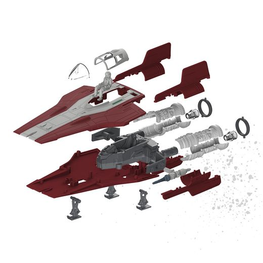 Maquette Star Wars : Build & Play Resistance A-WING Figter - Revell 06759