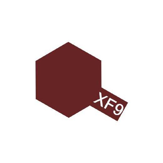 XF9 Rouge sombre - Tamiya 81709