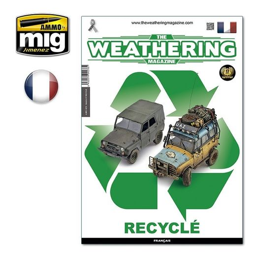 Magazine de modélisme : The Weathering Magazine n° 27 - RECYCLÉ