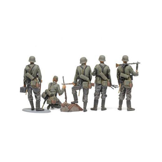 Figurines militaires : Fantassins allemands - 1/35 - Tamiya 35371