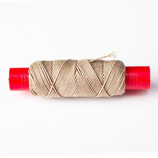 Outillage pour maquettes : Fil de grément beige 20 mtl. 0,70 mm - Amati 4124-07