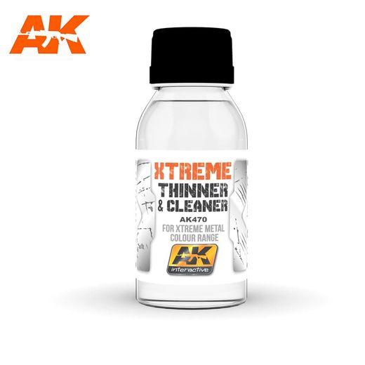 Xtreme nettoyant & diluant For Xtreme Metal Colour Range - Ak Interactive AK470