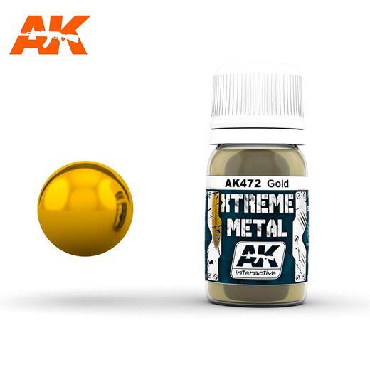 Xtreme Metal Gold - Ak Interactive AK472