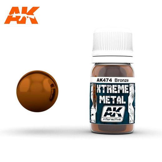 Xtreme Metal Bronze - Ak Interactive AK474