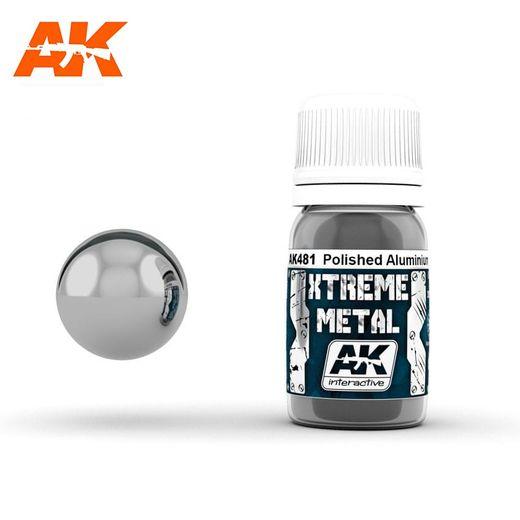 Xtreme Metal Polished Aluminium poli - Ak Interactive AK481